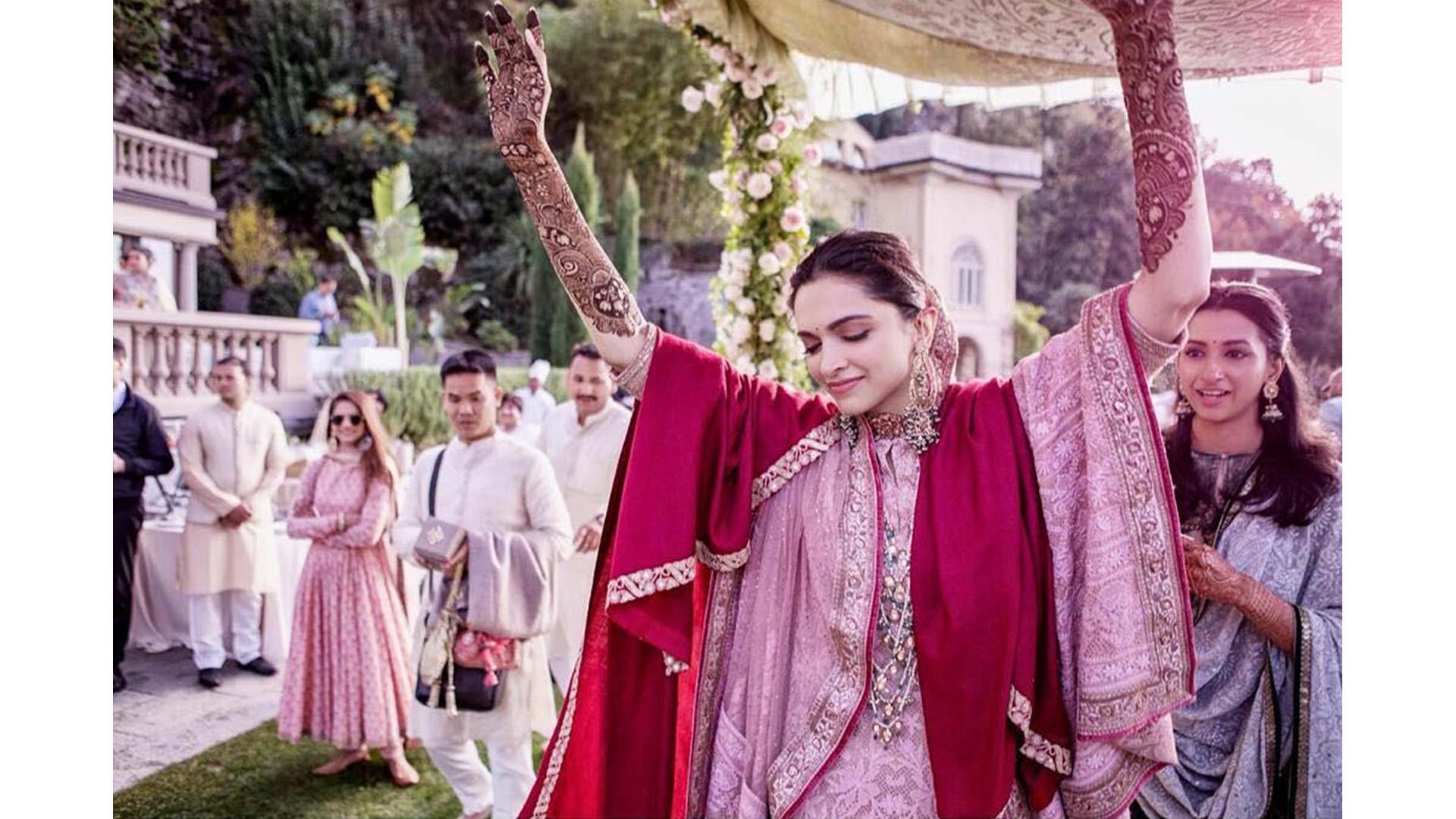 Deepika Padukone and Ranveer Singh's Exclusive Wedding Pics